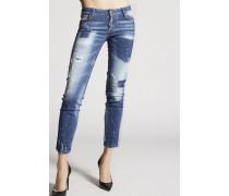 Light Pocket Shadow Jennifer Jeans