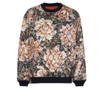 AOP Quilted Sweater