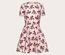 Valentino Kleid aus Crêpe Couture mit Undercover Print