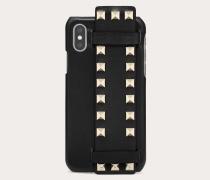 Valentino Garavani Cover Rockstud für Iphone X/xs aus Kalbsleder