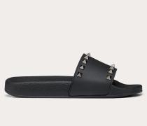 Valentino Garavani Slider-sandalen Rockstud aus Gummi