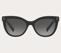 Valentino Occhiali Cateye-Sonnenbrille aus Acetat mit Nieten