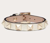 Valentino Garavani Armband Rockstud aus Leder