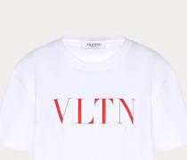 Valentino Bedrucktes T-shirt Vltn L