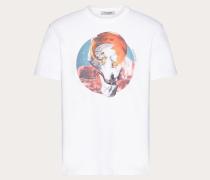 Valentino Uomo T-shirt Soul Planets XS