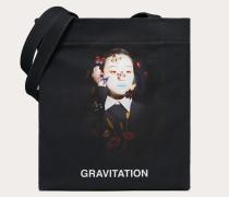 """Valentino Garavani Shopper mit """"gravitation""""-print, Designt in Zusammenarbeit mit Izumi Miyazaki"""