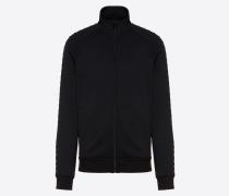 Valentino Uomo Jerseysweatshirt mit Reissverschluss Rockstud Untitled M