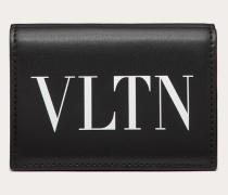 Valentino Garavani Uomo Portemonnaie Vltn aus Leder