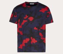 Valentino Uomo T-shirt Camouflage XS