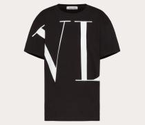 Valentino T-shirt mit Maxi-vltn XS