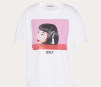 Valentino T-shirt mit Izumi Miyazaki-print und Stickerei M