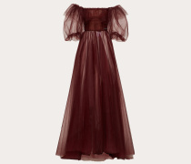 Valentino Abendkleid aus Tüll mit Gedicht