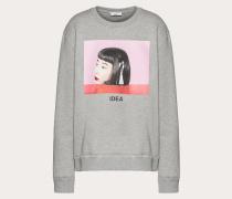 Valentino Sweatshirt mit Izumi Miyazaki-print und Stickerei S