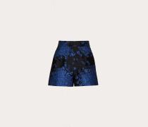 """Shorts aus """"bluegrace""""-brokat"""