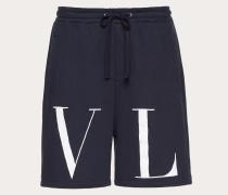 Valentino Uomo Bermudashorts aus Jersey mit Maxi-vltn-print M