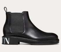 Valentino Garavani Uomo Chelsea Boots Vltn aus Geschliffenem Kalbsleder