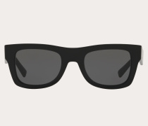 VALENTINO Eckige Sonnenbrille aus Acetat