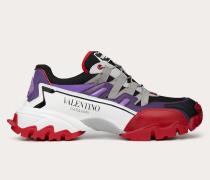 Valentino Garavani Uomo Climbers Sneakers aus Stoff und Leder
