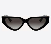 Valentino Occhiali Cateye-Sonnenbrille aus Acetat mit Vlogo
