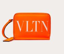 Valentino Garavani Uomo Neonfarbenes Portemonnaie Zum Umhängen Vltn