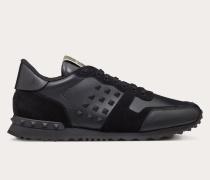 Valentino Garavani Uomo Sneakers Rockstud aus Kalbsleder