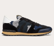 Valentino Garavani Uomo Sneakers Rockrunner Camouflage aus Mesh