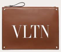 Valentino Garavani Uomo Clutch Vltn aus Leder