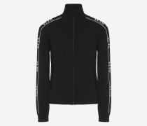 Valentino Uomo Sweatshirt aus Viskose mit Vltn Print XS