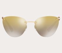 Valentino Occhiali Cateye-Sonnenbrille aus Metall