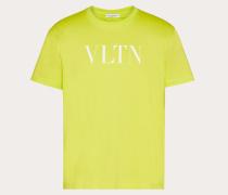 Valentino Uomo Neongrünes T-shirt Vltn XS