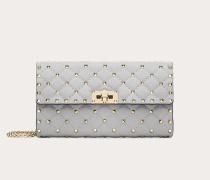 Crossbody Bag Rockstud Spike Im Pochette-stil aus Nappaleder