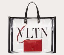 Valentino Garavani Großer Shopper Vltn aus Plexiglas