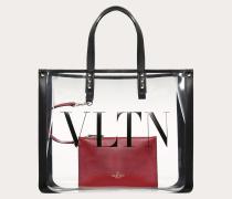 """Valentino Garavani Kleiner,Shopper mit """"vltn"""" Print"""