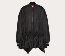Valentino Wattierte Jacke Vltn aus Nylon-popeline