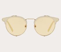 Valentino Occhiali Pantos-Sonnenbrille aus Metall und Acetat