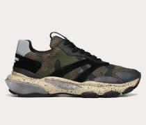 Valentino Garavani Uomo Sneakers Bounce in Camouflage-Optik