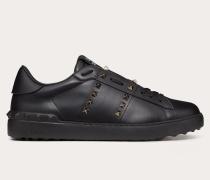 Valentino Garavani Uomo e Sneakers Rockstud Untitled aus Kalbsleder