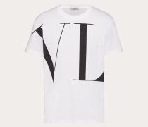 Valentino Uomo T-shirt mit Maxi-vltn Print M