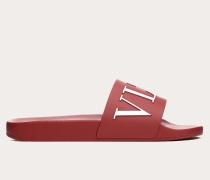 Valentino Garavani Uomo Slider-sandalen Vltn aus Gummi