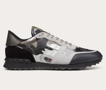 Valentino Garavani Uomo Sneakers Rockrunner Camouflage in Reflektierender Optik