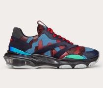 Valentino Garavani Uomo Sneakers Bounce in Multicolor-camouflage-Optik