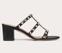 Valentino Garavani Slider-sandalen Rockstud aus Kalbsleder 0