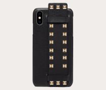 Valentino Garavani Cover Rockstud für Iphone Xs Max aus Kalbsleder
