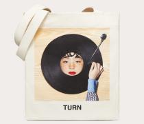 """Valentino Garavani Shopper mit """"turn""""-print, Designt in Zusammenarbeit mit Izumi Miyazaki"""