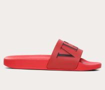 Valentino Garavani Slider-sandalen Vltn aus Gummi