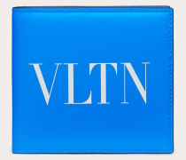 Valentino Garavani Uomo Neonfarbenes Portemonnaie Vltn