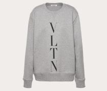 Valentino Uomo Vltn-sweatshirt mit Rundhalsausschnitt L