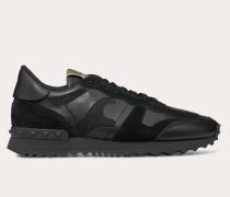 Valentino Garavani Sneaker Camouflage Noir
