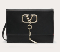 Valentino Garavani Crossbody Bag Vcase aus glänzendem Kalbsleder