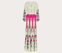 VALENTINO Abendkleid aus Georgette Light mit Print